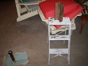For Sale:  Step Stool & Train Rail