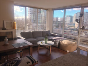 Master bedroom in Richmond-Block away from skytrain station