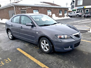2008 MAZDA 3 WITH  SUMMER AND WINTER TIRES INCLUDED