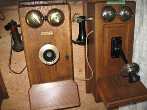 ANTIQUE TELEPHONE COLLECTION