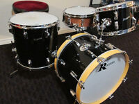 Rare and sweet sounds Rogers 1960,s vintage maple drum kit
