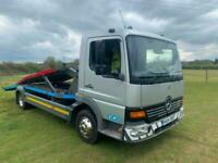 2004 (54) MERCEDES-BENZ ATEGO 815 7.5T RECOVERY TRUCK + 2 CAR TRANSPORTER