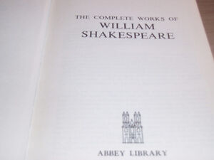 THE COMPLETE WORKS OF WILLIAM SHAKESPEARE West Island Greater Montréal image 4