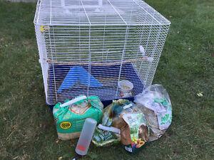 Cage pour lapin ou rat
