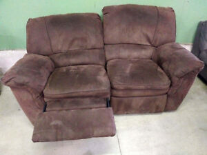 Beautiful Love-Seat Couch and Recliners