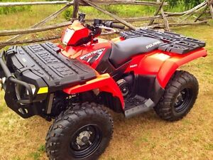 2010 POLARIS SPORTSMAN 500 H.O.  MINT !!! ONLY 923 KMS