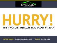 2009 59 MERCEDES-BENZ B CLASS 1.5 B160 BLUEEFFICIENCY SE 5D 95 BHP