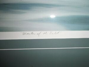 """Masters of The Inlet"" Killer Whales Lithograph by Bruce Muir 41 Sarnia Sarnia Area image 3"