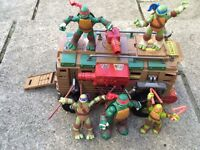 Teenage turtles toys