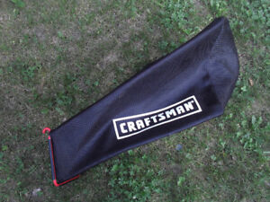 CRAFTSMAN Small Lawnmower Grass Bag
