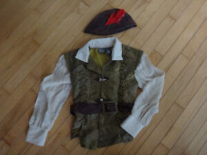 Robin Hood Shirt and Hat (size 6)