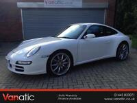 2005/55 Porsche 911 3.8 (350bhp) 4X4 2006MY Carrera 4 S in White