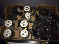 Set of led lights rgb with controller box