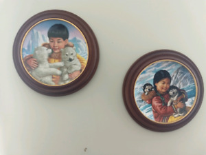 Decor Wall Plates - Inuits Nori Peter Collection