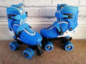 Free Adjustable Zinc Roller Boots / Skates 13-3