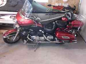 Motorcycle with lots of extras.new tires and breaks.one owner.