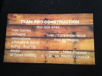 Team Pro construction