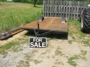 NEW PRICE---16 FT. SINGLE AXLE TRAILER