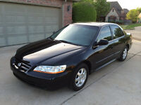 2002 Honda Accord EXL - MINT CONDITION (( FULLY LOADED )) MINT