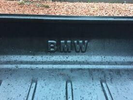 BMW boot liner.