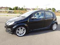 GREAT LOOKING 2006 SMART FORFOUR BRABUS 1.5 TURBO 177 BHP MANUAL LOW MILEAGE