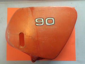 1973 Kawasaki G3 90 Oil Tank Side Cover