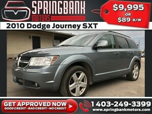 2010 Dodge Journey SXT 7 Pass $89B/W INSTANT APPROVAL, DRIVE HOM