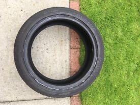 "Run Flat Tyre 17"""