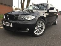 BMW 1 SERIES 118d M SPORT (black) 2009