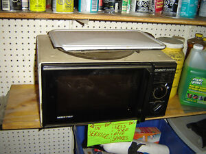 Microwave, small and simple. works well. PRICE UPDATE