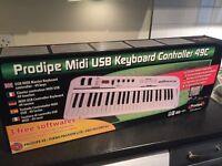 usb midi keyboard Controller 49 C