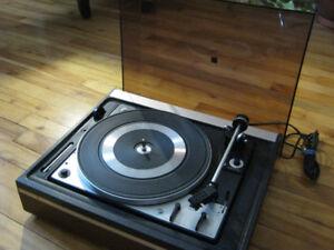 turntable Dual 1225 , idler drive, serviced clean ,Record player