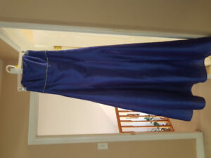 Violet blue dress perfect for prom wedding or special occasion!