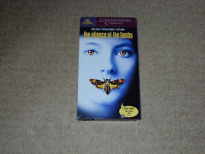 THE SILENCE OF THE LAMBS, VHS MOVIE, EXCELLENT CONDITION