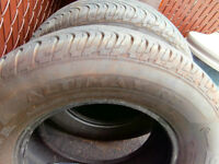 2 general tires 215/70/15 for camaro trans am firebird other spo