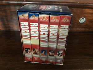 coffret collection VHS de Rocky