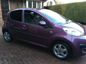 Immaculate condition 2014 Peugeot 107 Allure