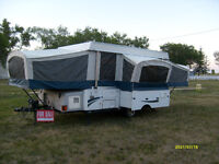 Excellent 2009 Coleman Bayside Tent Trailer Large opens to 25ft