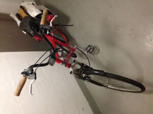 Reebok Commuter Bike, 7 Speed, with 2 Saddle Bags and Cup Holder