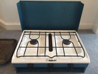 Dudley Camping Stove - Double hob & Grill Top quality