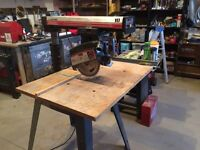 "Craftsman 10"" Radial Saw $150"