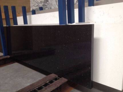 Black Galaxy Granite Kitchen Benchtop - 2 sides edges polished Thomastown Whittlesea Area Preview