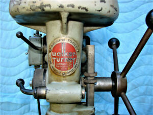 Walker Turner Canadian Drill Press Floor Model 1930's Excellent