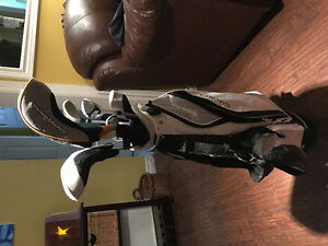 Brand new junior, right hand golf clubs