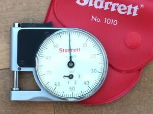 Starrett 1010Z Pocket Dial Gage