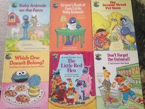 Sesame Street books