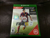 FIFA 15 FOR XBOX ONE ABSOLUTLY PERFECT CONDITION SALE / TRADE