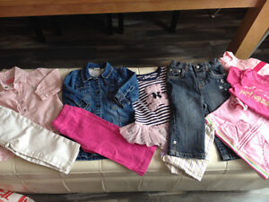 Baby Girl size 12, 12/18m lot