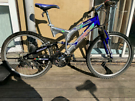 Rhino b2 extreme alloy adults bike/ full suspension/great condition!
