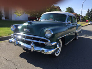 1954 CHEVY BELAIR RUNS LOOKS GREAT ALL ORIGINAL